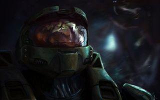 Бесплатные фото воин,космонавт,фантастика,шлем,космос