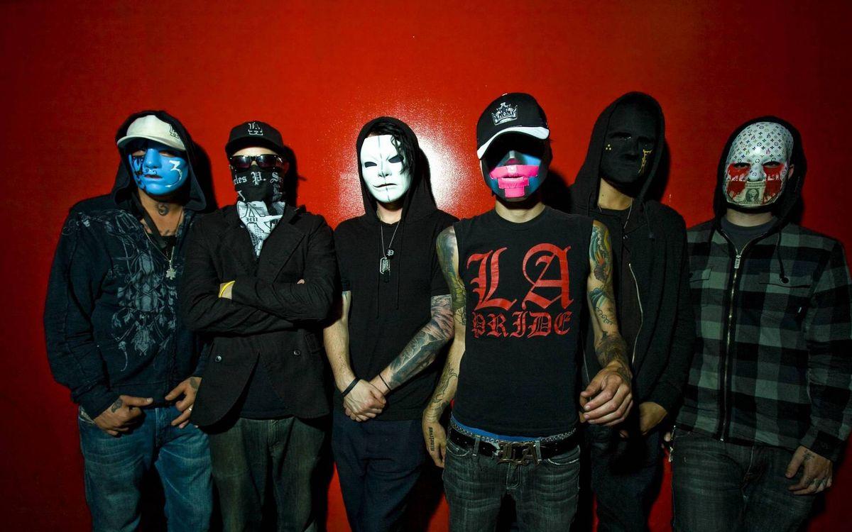 Фото бесплатно парни, маски, одежда, татуировки, стиль