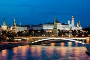 Photo free Moscow, Kremlin, Moscow river