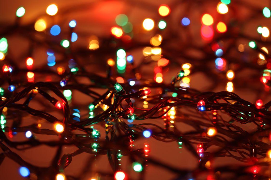 Фото бесплатно освещение, Рождество, гирлянды - на рабочий стол