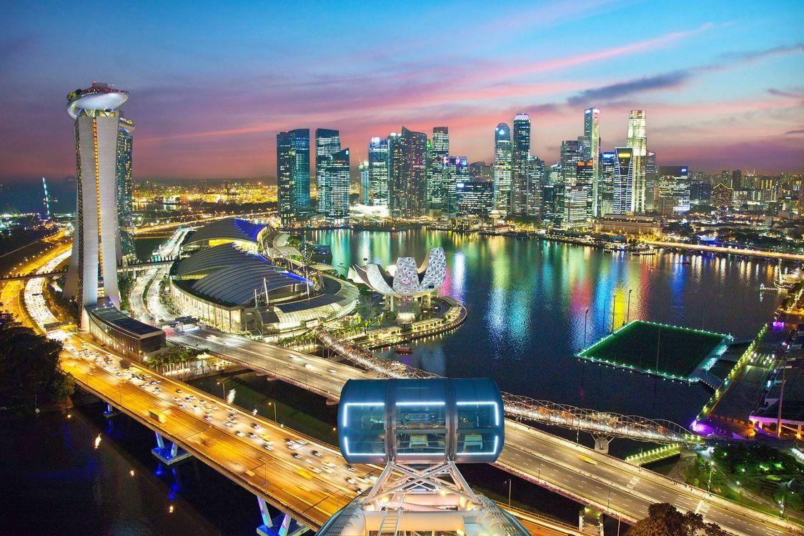 Фото онлайн бесплатно сингапур, город
