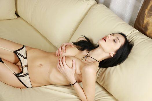 Фото бесплатно Vanesa Gojgik, Eugenia Diordychuk, сексуальная девушка
