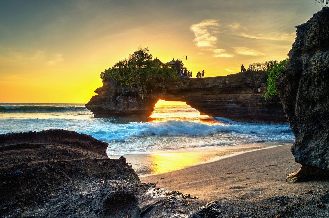 Фото бесплатно Бали, закат, море - на рабочий стол