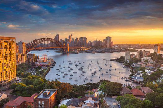 Фото бесплатно Городской пейзаж, Австралия, закат