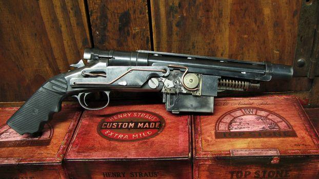 Фото бесплатно пистолет, самоделка, механизм