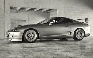 Photo free toyota, supra, lights