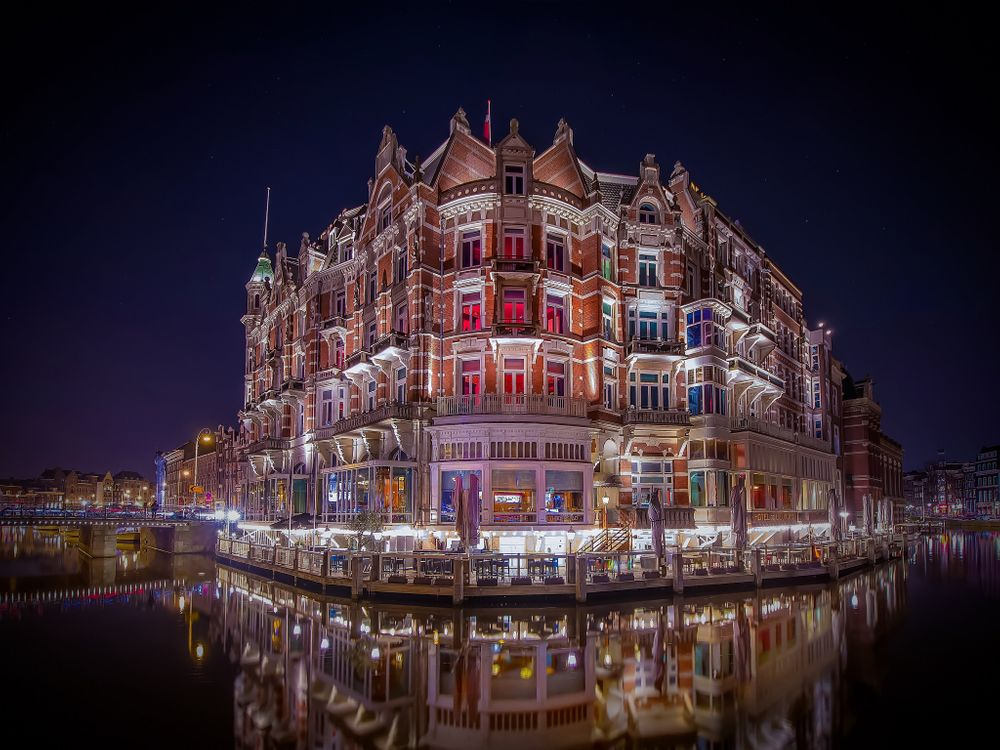 Photos for free Amsterdam, Hotel L Europe, Netherlands - to the desktop