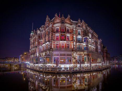 Фото бесплатно Amsterdam, Hotel L Europe, Netherlands