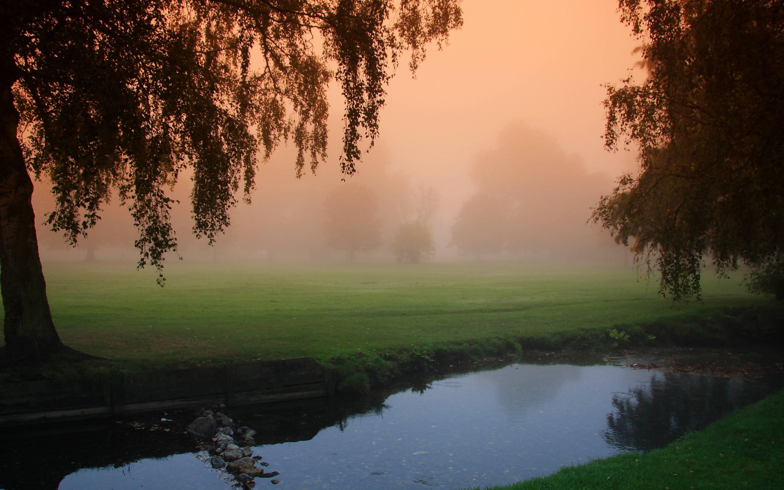 Туман вдоль реки  № 1281355 загрузить
