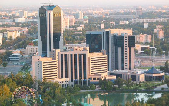 Photo free Uzbekistan, Tashkent, National Bank