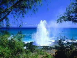 Фото бесплатно море, побережье, гейзер