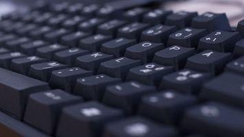 Фото бесплатно клавиатура, кнопки, макро