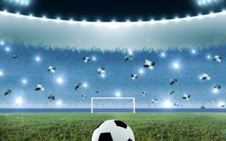 Бесплатные фото футбол, поле, мяч, ворота, трибуны, болельщики, флаги