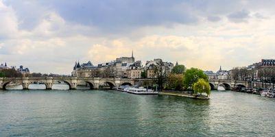 Бесплатные фото Париж, Франция, панорама