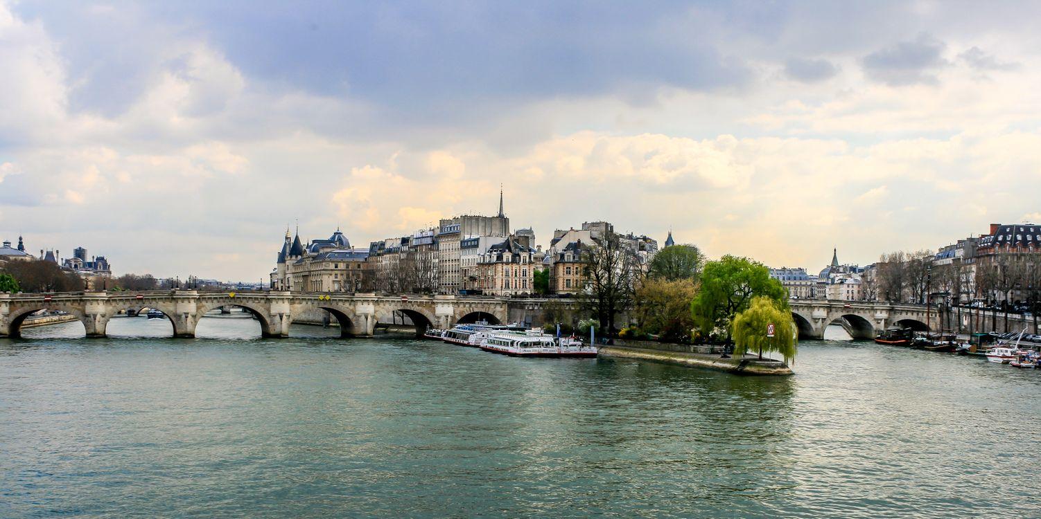 Фото бесплатно Париж, Франция, панорама - на рабочий стол