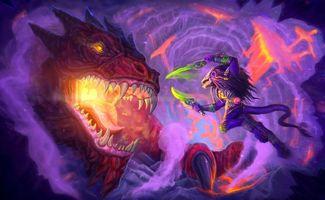 Бесплатные фото дракон,монстр,фантастика