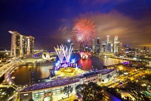 Бесплатные фото Сингапур, Singapore, город