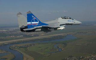 Фото бесплатно самолет, истребитель, миг-35