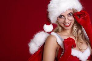 Фото бесплатно с новым годом, красавица, снегурочка