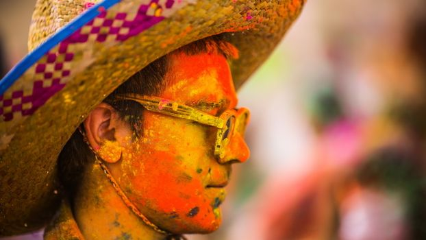 Бесплатные фото художник,шляпа,волосы,очки,лицо,краска