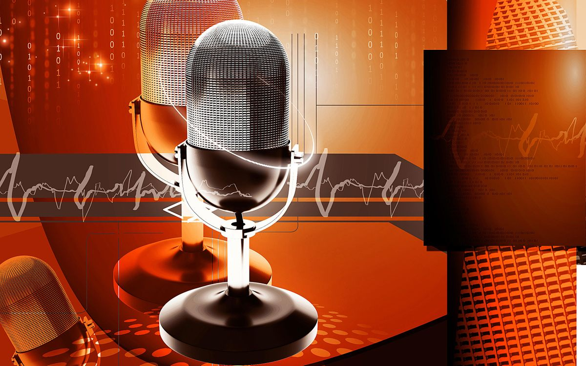 Фото бесплатно 3d, colour, effects, abstract, background, three-dimensional, technology, imagination, digital, graphics, audio, broadcast, microphone, music, song, 3d графика