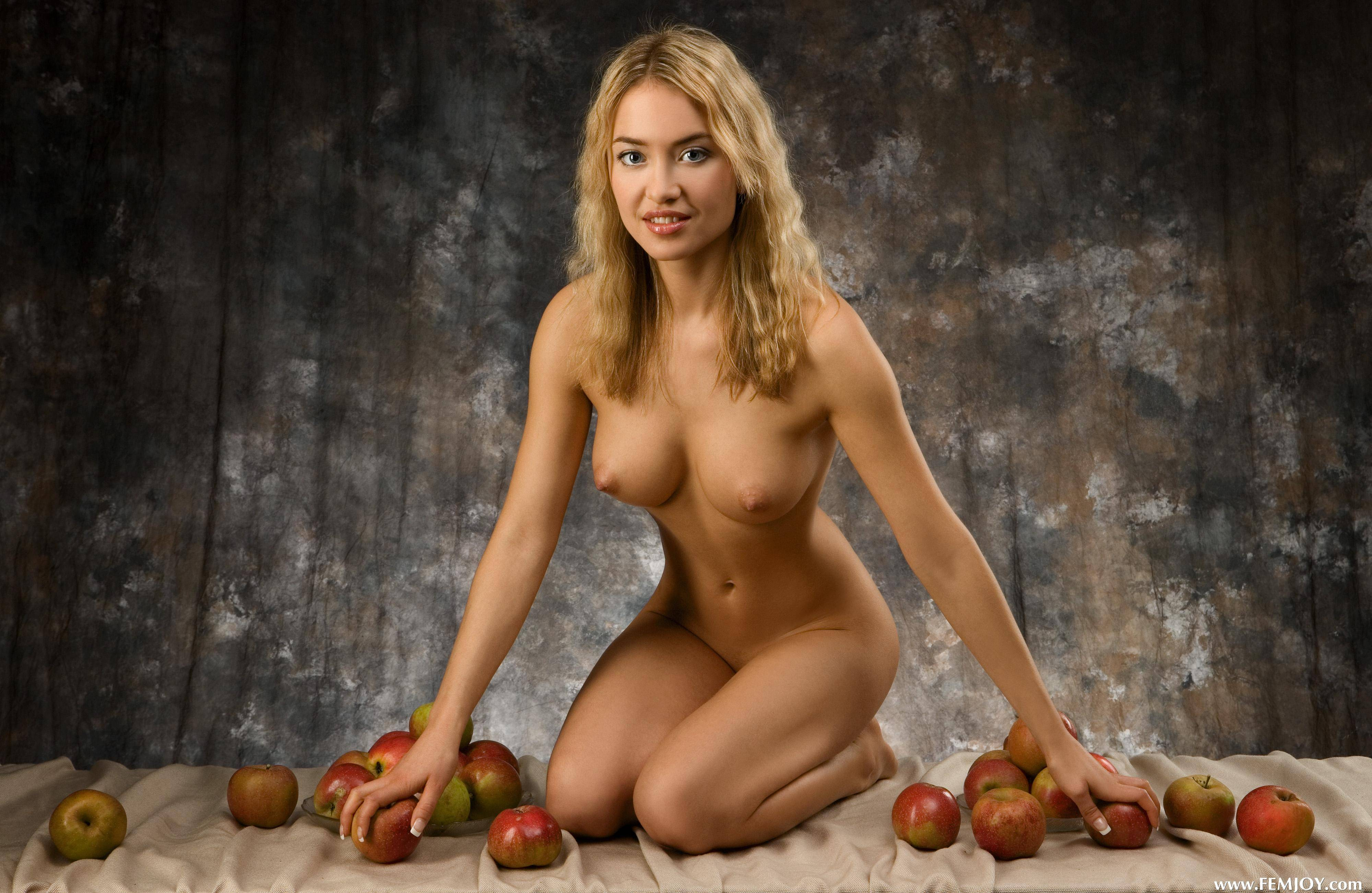 Nude model young fruit #6