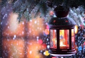 Фото бесплатно свечи, дизайн, Рождество