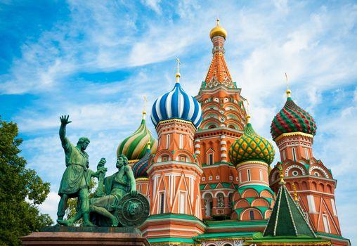 Фото бесплатно Москва, Собор Василия Блаженного, Столица