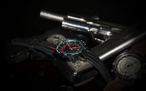 Фото бесплатно часы, циферблат, ремешок