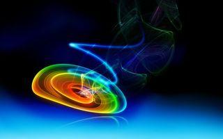 Фото бесплатно круги, цветные, свечение