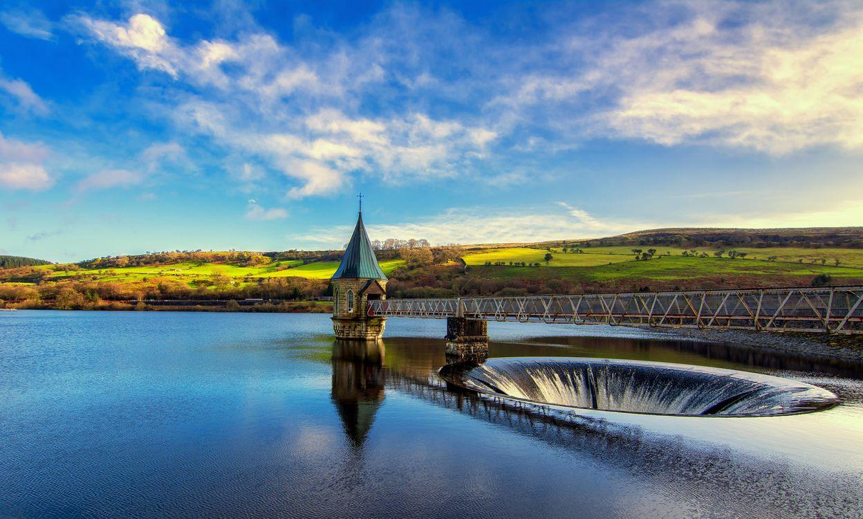 Фото Уэльс Великобритания Брекон маяки - бесплатные картинки на Fonwall