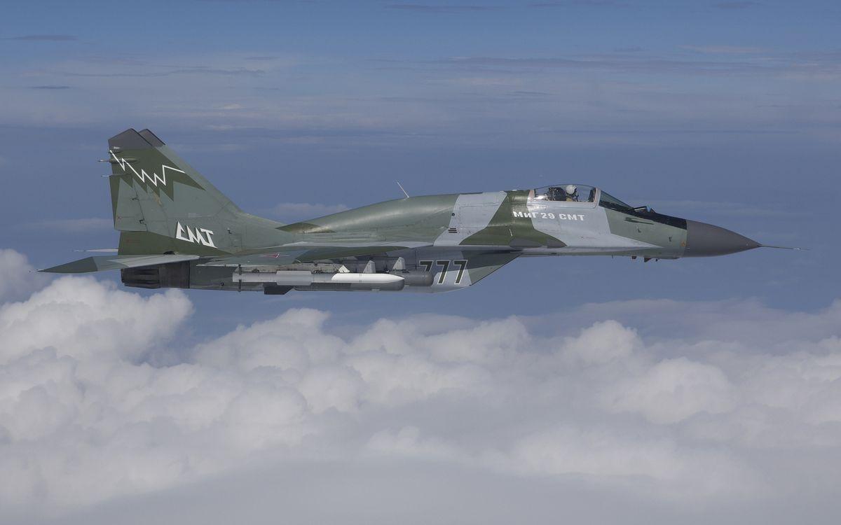 Фото бесплатно самолет, истребитель, миг-29 - на рабочий стол