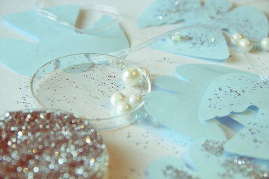 Photo free beads, new year, christmas