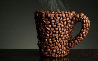 Заставки кофе, кипяток, пар
