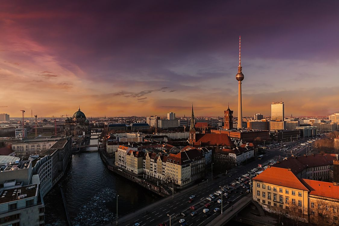 Фото бесплатно berlin, Берлин, столица, deutschland, germany, Германия, город, панорама, город