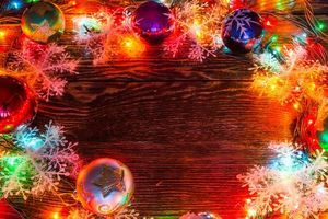 Photo free New Year wallpapers, illumination, Christmas