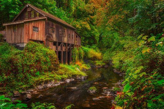 Photo free mill, Woodland, Cedar Creek Grist Mill