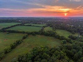 Фото бесплатно Мэривилль, Блаунт Каунти, штат Теннесси, поля, дома, закат, деревья, пейзаж