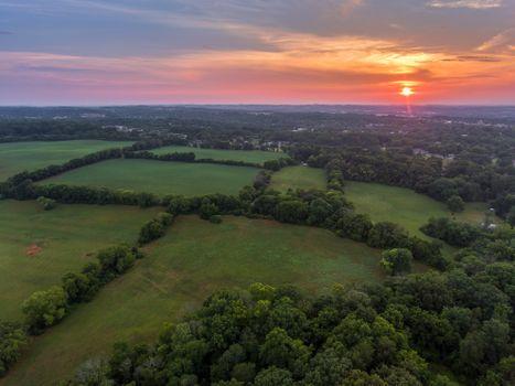 Бесплатные фото Мэривилль,Блаунт Каунти,штат Теннесси,поля,дома,закат,деревья,пейзаж