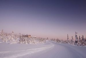 Фото бесплатно Лапландия, Финляндия, зима