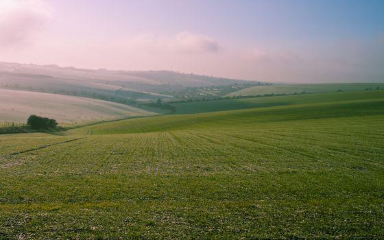 Бесплатные фото поля,небо,облака,трава