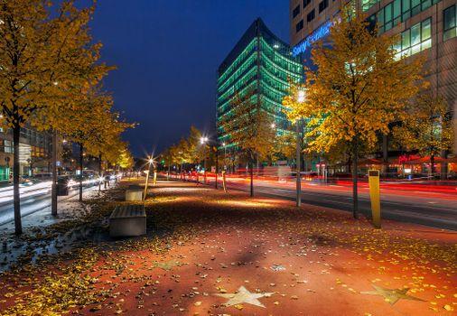 Photo free The Boulevard Of The Stars, Potsdamer Platz, Berlin