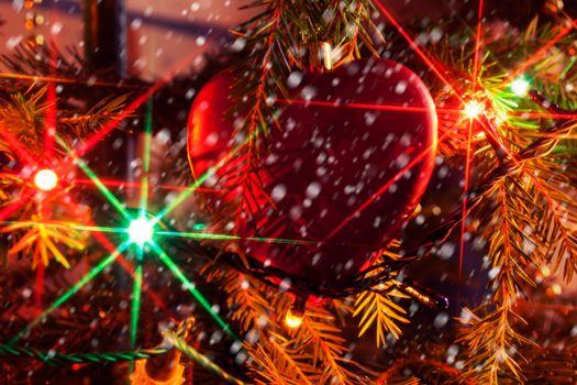 Фото бесплатно элементы, новогодние, иллюминация