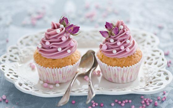 Фото бесплатно десерт, пирожное, кекс