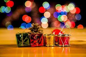 Фото бесплатно элементы, подсветка, новогодние обои
