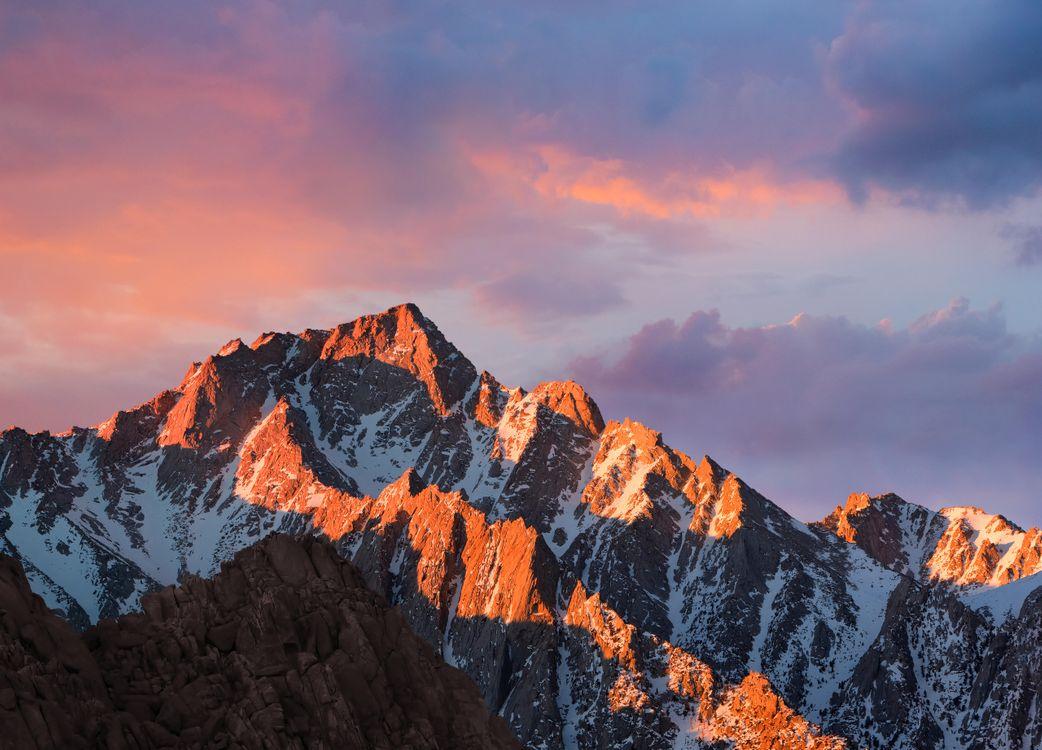 Фото бесплатно горы, холмы, закат солнца - на рабочий стол