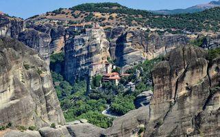Фото бесплатно Meteora, Kalabaka, Greece