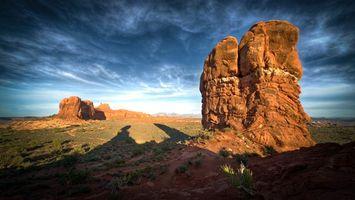 Фото бесплатно скала, техас, небо
