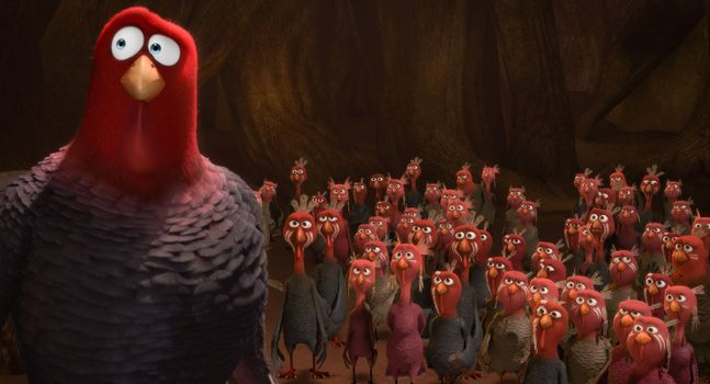 Beautiful wallpaper turkeys: back to the future cartoon