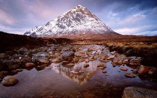 Бесплатные фото камни,вода,лужа,трава,гора,скала,снег
